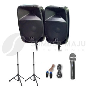 Harga paket komplit speaker aktif crimson 15 inch bluetooth type soul   HARGALOKA.COM