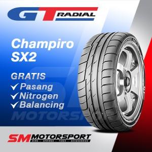 Harga gt radial champiro sx2 215 45 zr17 ban | HARGALOKA.COM