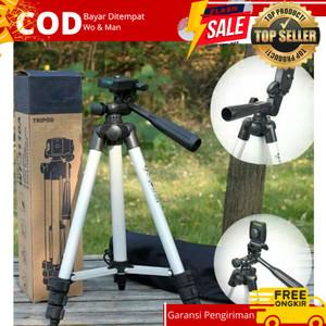 Harga tripod kamera handphone hp foto video 1meter standby kt 3110a | HARGALOKA.COM