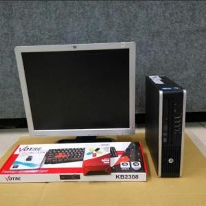 Harga cuci gudang paket komputer bekas branded hp corei5 lcd 17 34 | HARGALOKA.COM