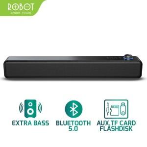 Harga speaker bluetooth 5 0 bass robot rb480 dual connection soundbar | HARGALOKA.COM