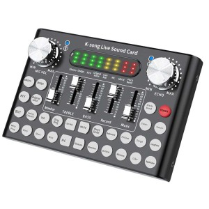 Harga woopower mixer usb sound card amplifier live broadcast recording | HARGALOKA.COM