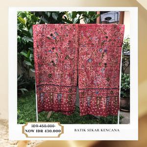 Harga batik tulis lasem sigit witjaksono selendang getih pithik   HARGALOKA.COM