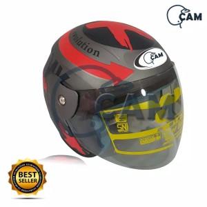 Harga helm motor sni evolution lorenzo grey doff bukan | HARGALOKA.COM