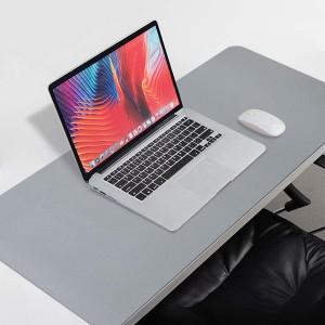 Harga triple w 90x45cm leather mousepad desk mat mouse pad double side bubm   | HARGALOKA.COM