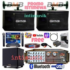 Harga paket sound system karaoke bmb 10 inch bass i   HARGALOKA.COM
