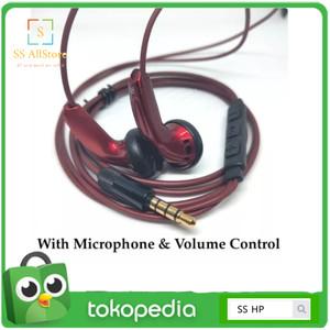 Harga ready headset sennheiser mx500 custom bass earphone with crystal sound   | HARGALOKA.COM