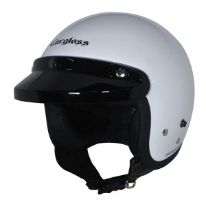 Harga cargloss cf retro army helm half face   sp whity white     HARGALOKA.COM