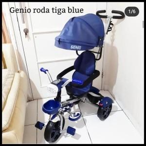 Harga sepeda roda tiga genio dengan music lampu i bangku hadap 2 arah   | HARGALOKA.COM