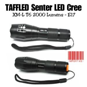 Harga taffled senter led cree xm l t6 2000 lumens   e17 lampu sepeda | HARGALOKA.COM