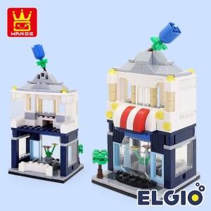 Harga lego street view model bricks flower shop model brik toko | HARGALOKA.COM
