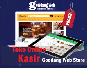 Harga website toko online dilengkapi aplikasi kasir gratis | HARGALOKA.COM