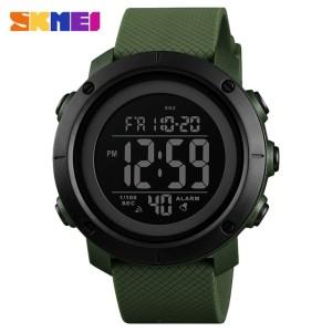 Harga skmei jam tangan digital pria   1434   green | HARGALOKA.COM