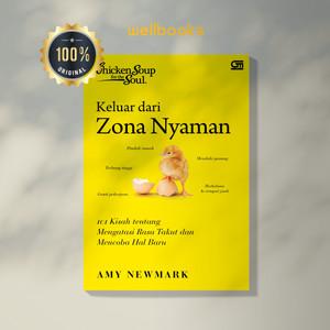 Harga buku 34 chicken soup for the soul keluar dari zona nyaman 34 baru | HARGALOKA.COM