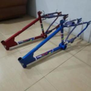Harga frame oyama sepeda bmx 20 34 inci model old | HARGALOKA.COM