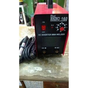 Harga mesin las listrik rhino mma 160a trafo travo las travolas inverter   HARGALOKA.COM