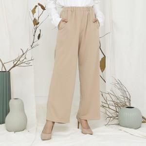 Harga wulfi celana paragon kulot khaki   ukuran 1 | HARGALOKA.COM