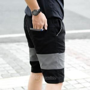 Harga celana pendek pria dewasa model terbaru orginal   hitam   HARGALOKA.COM
