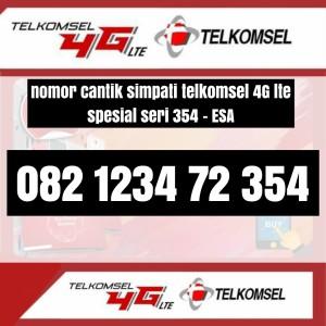 Harga nomor cantik seri esa 354 telkomsel simpati 4g kartu perdana spesial | HARGALOKA.COM