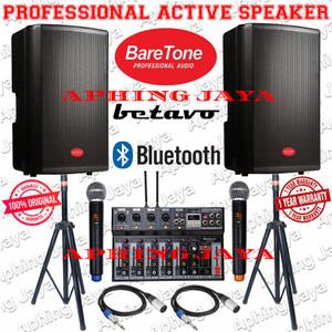 Harga paket sound system speaker aktif indoor outdoor baretone 12 34   HARGALOKA.COM