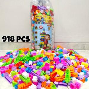 Harga mainan lego block balok susun isi 918 ukuran | HARGALOKA.COM