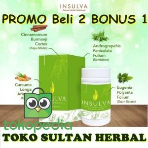 Harga insulva asli obat herbal diabetes terbaik udah terdaftar bpom | HARGALOKA.COM