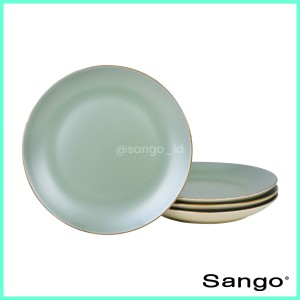 Harga sango set piring makan pearl chic beige isi 4   HARGALOKA.COM