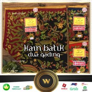 Harga kain panjang batik dua gading grosir    kain batik | HARGALOKA.COM