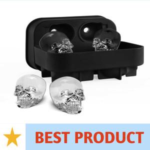 Harga cetakan es batu unik skull | HARGALOKA.COM