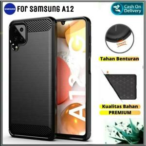 Harga case samsung a12 soft casing slim back hp cover samsung galaxy a | HARGALOKA.COM