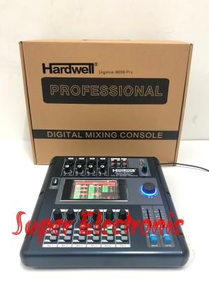 Harga mixer digital 4 channel hardwell digimix 9006 pro original | HARGALOKA.COM
