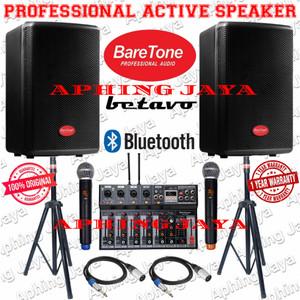 Harga paket sound system speaker aktif indoor outdoor baretone 10 34   HARGALOKA.COM