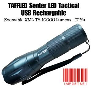 Harga taffled senter led usb rechargeable zoomable xml t6 10000 lumen | HARGALOKA.COM
