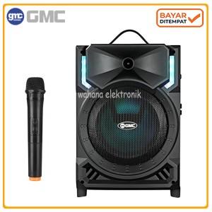Harga gmc 897h speaker portable bluetooth suara mantap karaoke   gratis   HARGALOKA.COM