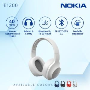 Harga nokia wireless bluetooth 5 0 headphone headset with mic e1200    HARGALOKA.COM