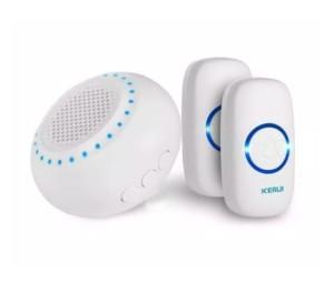 Harga kerui m523 bel pintu wireless doorbell waterproof led 2 button   2tombol   HARGALOKA.COM