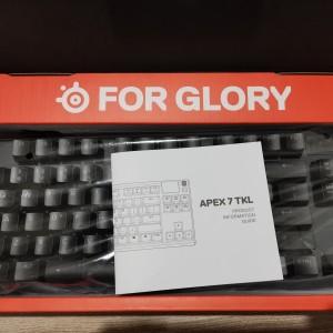 Harga keyboard gaming steelseries apex 7 tkl blue   HARGALOKA.COM
