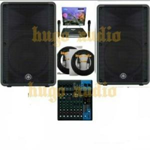 Harga paket sound system yamaha speaker mixer 10   HARGALOKA.COM
