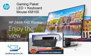 Harga hp 24mh 23 8 inch monitor keyboard mouse | HARGALOKA.COM