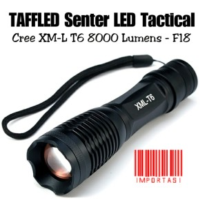 Harga taffled senter led tactical cree xm l t6 8000 lumens lampu | HARGALOKA.COM