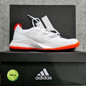 Harga sepatu tenis adidas court control fx white   | HARGALOKA.COM