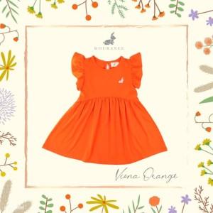 Harga viona dress   orange | HARGALOKA.COM