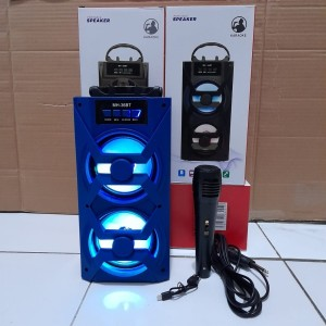 Harga speaker bluetooth karaoke tenteng free   HARGALOKA.COM