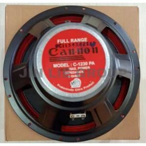 Harga speaker cannon 12inch full range c1230pa | HARGALOKA.COM