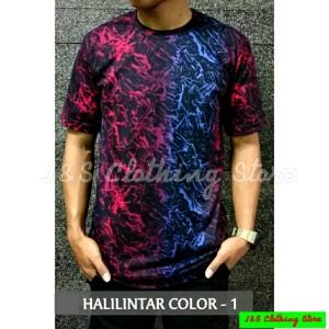 Harga kaos distro full printing   tshirt fullprint motif keren terbaru   halilintar 1 | HARGALOKA.COM