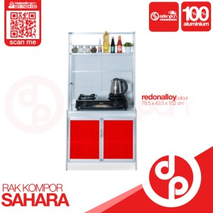 Harga lemari rak piring kompor 2 pintu sahara   free ongkir odenpan | HARGALOKA.COM