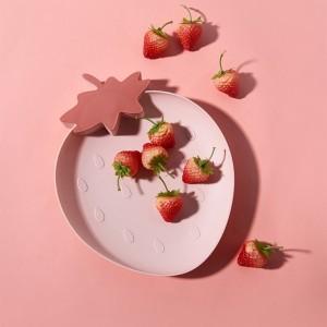 Harga piring saji bentuk buah   merah   HARGALOKA.COM