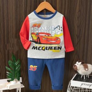 Harga   4   10 tahun piyama baju tidur panjang anak laki motif cars     HARGALOKA.COM