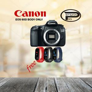 Harga kamera canon eos 60d body only free jam original garansi 1   HARGALOKA.COM