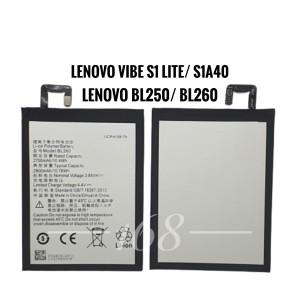 Harga baterai batre lenovo bl250 bl260 vibe s1 lite batere s1a40 | HARGALOKA.COM
